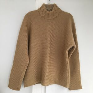 Yoon, 100% Virgin Wool Carmel Sweater. 52 Large